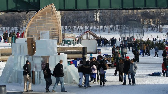The Forks National Historic Site: Winter Fun