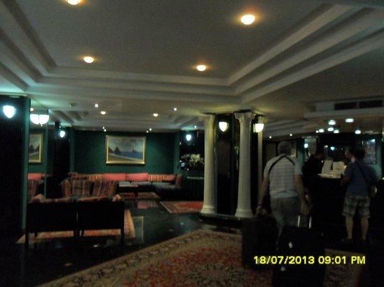 Hotel Residence Arcobaleno: Lobby del Hotel