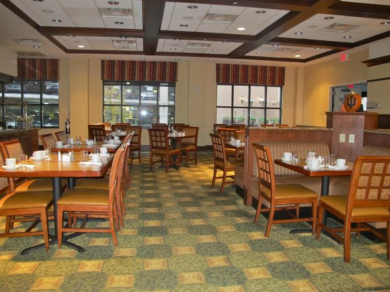 Hilton Garden Inn Bloomington: Breakfast area