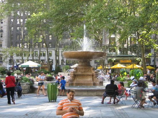 New York City Sightseeing : The Bryant Park i NYC