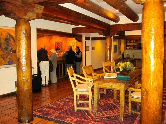 Hotel Santa Fe: lobby and reception area
