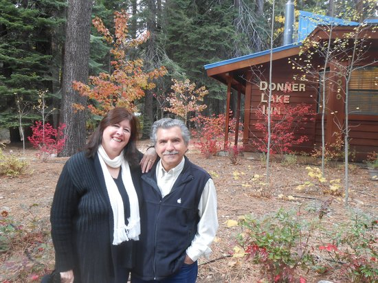 Donner Lake Inn Bed and Breakfast : For our wedding anniversary
