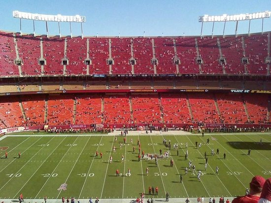 Arrowhead Stadium: View from the top!