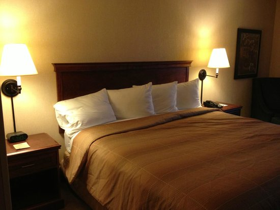 Silver Cloud Inn NW Portland: King size bed- very comfy!