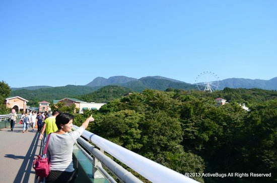 Gotemba Premium Outlets: Fresh air with lots of green.