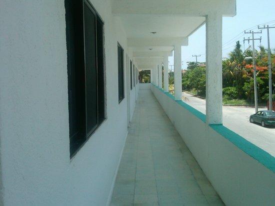 Hotel Eden Pto Morelos 2nd  Story Hall