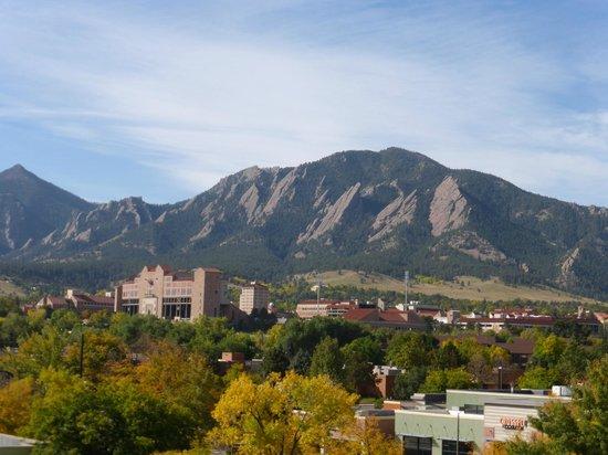 Boulder Marriott: view from room 402