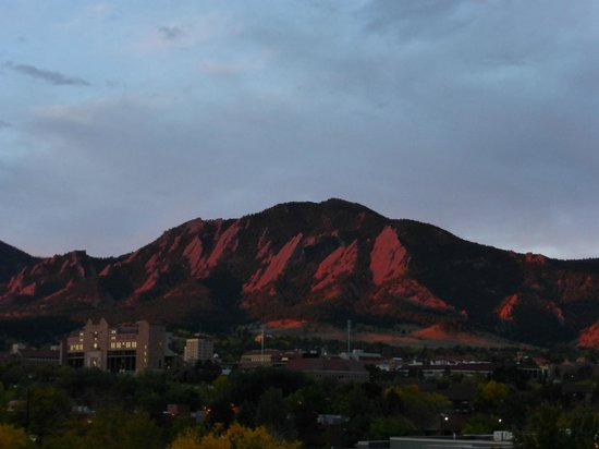 Boulder Marriott: view from room 402