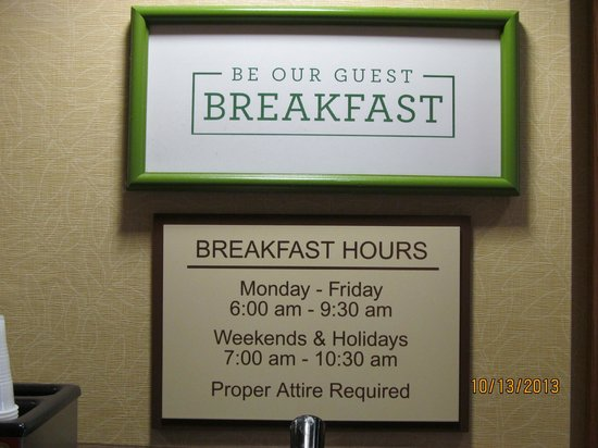 Country Inn & Suites By Carlson, Cincinnati Airport: Breakfast!