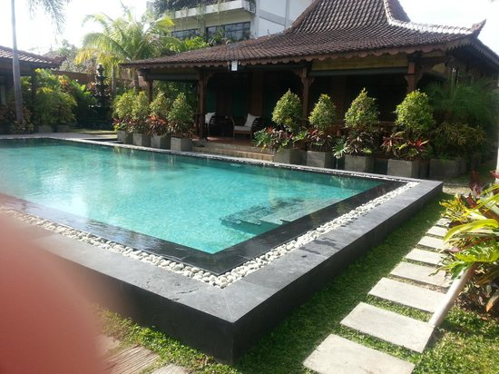 Villa Berawa: My one bed villa and pool