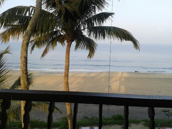Palm Beach Resort: view from room