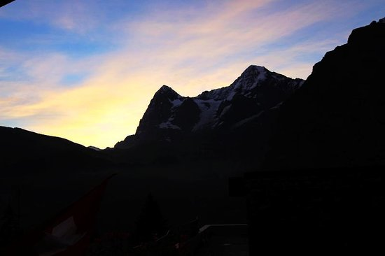 Eiger Guesthouse: View from the room