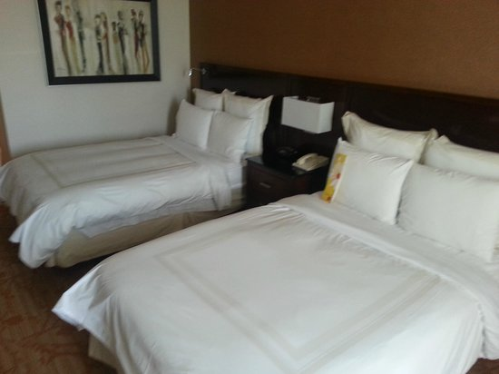 Dallas/Plano Marriott at Legacy Town Center : Comfortable Room with all the amenities