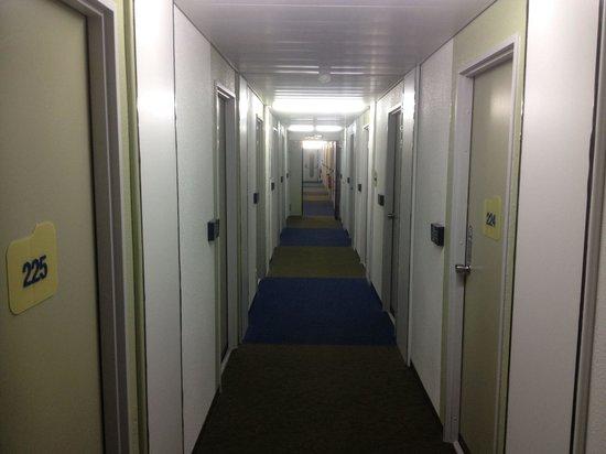 Ibis Budget Mulhouse Dornach : Le couloir