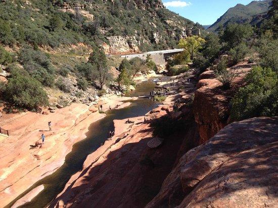 Slide Rock State Park: Water fun!