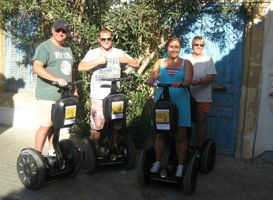 Segway Station Tour Experience: The best way to tour the city...