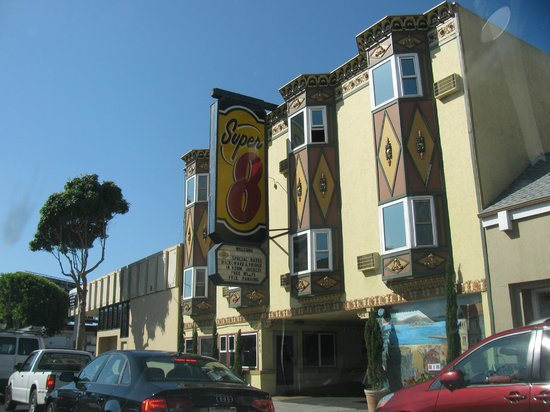 Super 8 San Francisco/Near the Marina: From the street