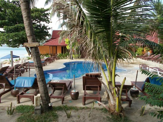 Seascape Beach Resort : swimmingpool