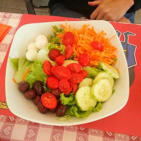 Ae Oche - Venezia Zattere : Quite the dinner salad