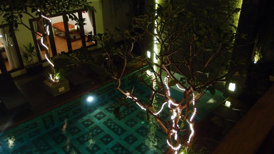 Sense Hotel Seminyak : From our balcony (pool view)