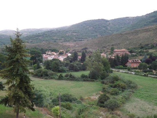 Real Valle Ezcaray : Vista desde el apartamento