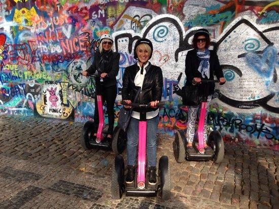 Segway Point - Prague Segway Tours : Great fun