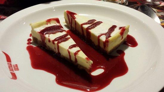 Buffalo Grill de Geneve Aeroport: Cheesecake