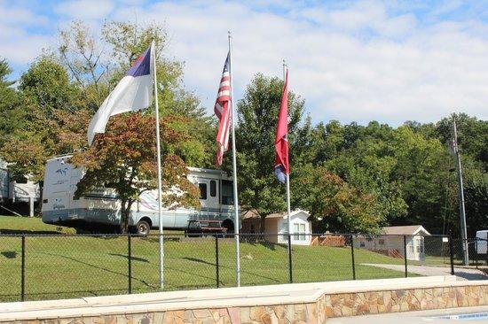 Mill Creek Resort: Campground