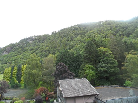 Lodore Falls Hotel: View from the room