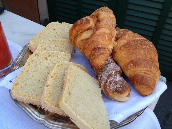 La Terrazza dei Pelargoni : colazione