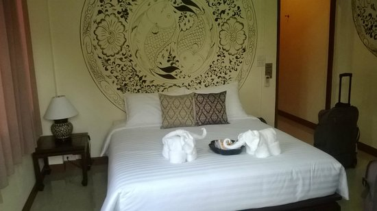 Wake Up at Muang Kao Boutique Hotel : Come si fa a piegare così gli asciugamani?