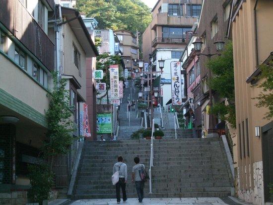 Ikaho Stone Steps: 昼の石段街