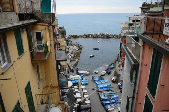 Alla Marina: The view from our window when turning left