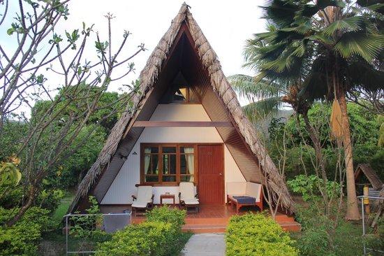 La Digue Island Lodge : Il nostro chalet