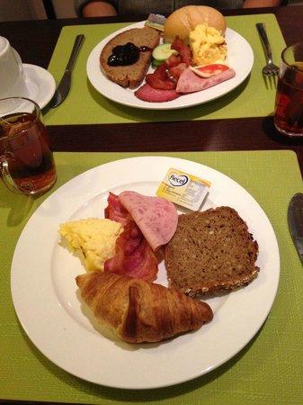 Leonardo Hotel Frankfurt City Center: breakfast