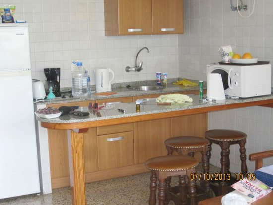Apartamentos Mayaguez : kitchen area