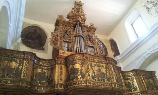 Trivigno, Italy: The organ