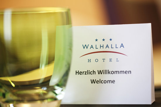 Walhalla Hotel: Complimentary water