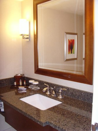 Visalia Marriott at the Convention Center : Sink