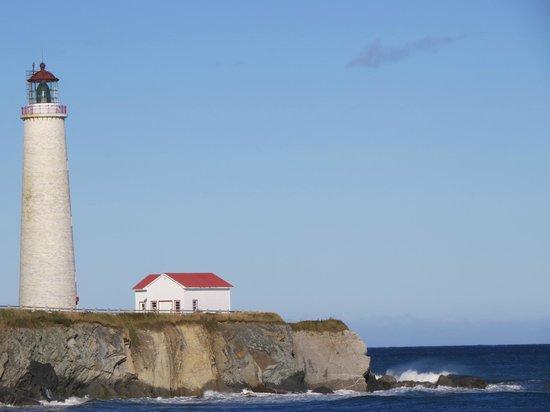 Cap-des-Rosiers, Kanada: phare du Cap des rosiers