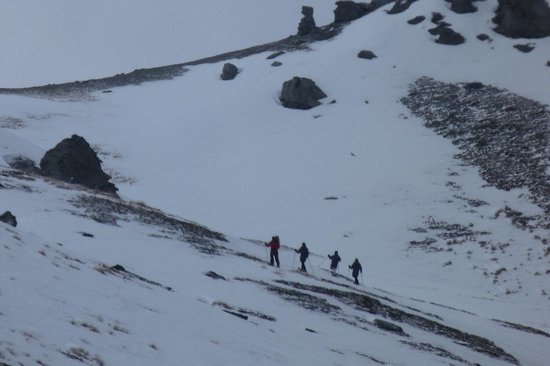 Guided Walks New Zealand: -9C at the top!!