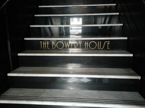 The Bowery House: ingresso reception