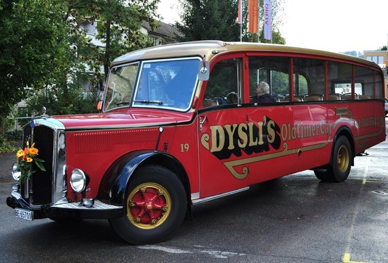 Hotel Adler: OldtimerCar von Dysli