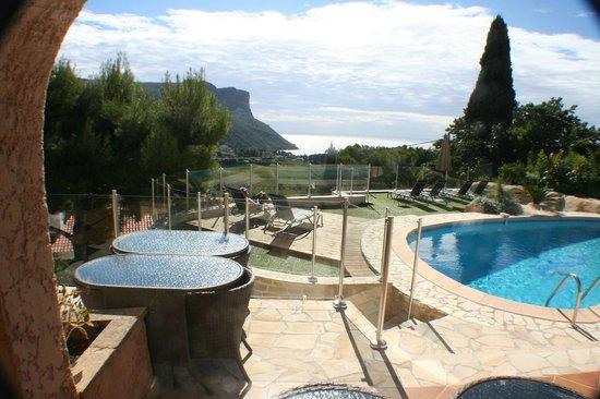 La Demeure Insoupconnee : Splendid view on Cap Canaille