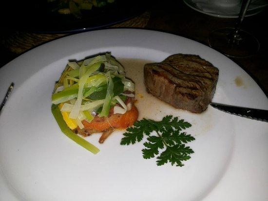 Belleek Castle Restaurant: Filetto di manzo