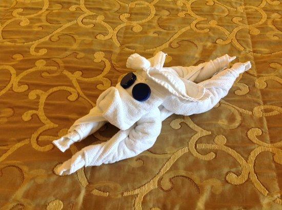 Falésia Hotel : Towel animal