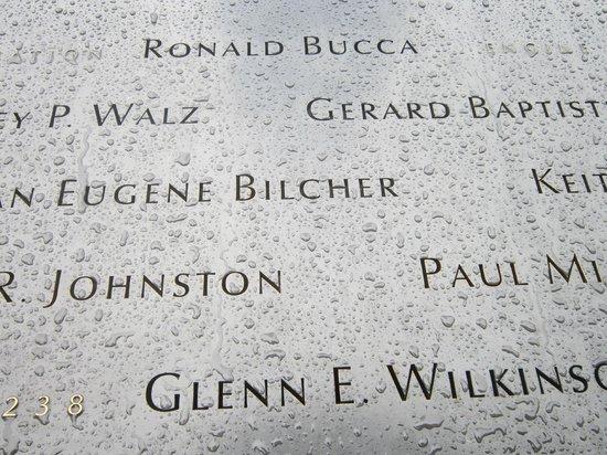 The National 9/11 Memorial & Museum: nomi caduti