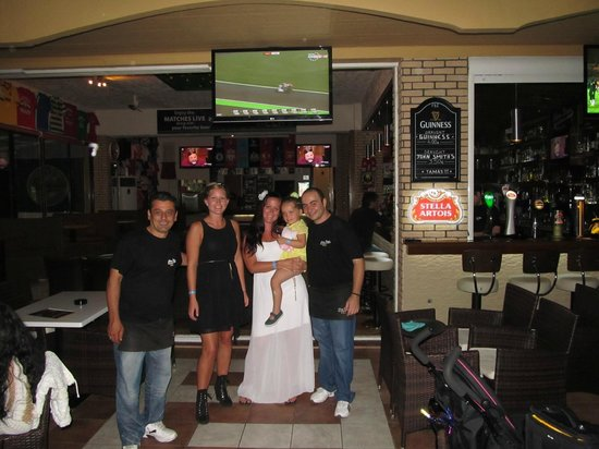 Glory Days Sports Bar and Grill : Us girls and the best staff!