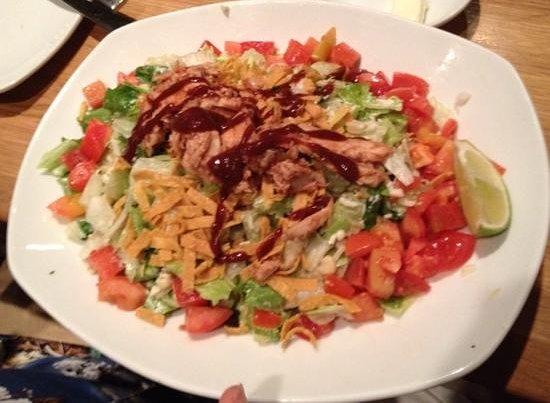 California Pizza Kitchen: BBQ Chicken Salad
