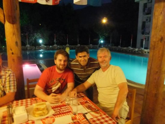 Ozturk Hotel Hisaronu : A picture with Naim
